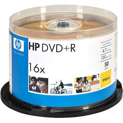 Hewlett Packard HP DVD+R 16X 50 Pack Spindle