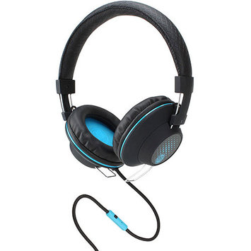 Accessory Power GOgroove Over-Ear Stereo Headphones with In-line Microphone, Black