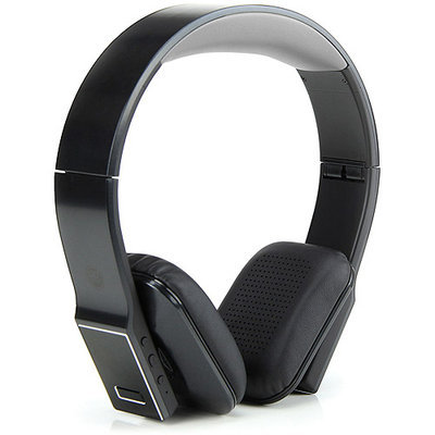 Accessory Power BlueVIBE DLX Hi-Def Bluetooth Wireless Headphones with Playback Controls, Case & Folding Design