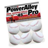 Trend Sports Heater PowerAlley Pro Leather Pitching Machine Baseballs PAPMBL44