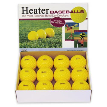 Heater Sports PMB29 - Heater Pitching Machine Baseballs #PMB29 - Balls