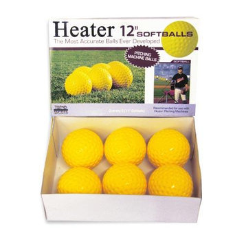 Heater Trend Sports 12 Inch Pitching Machine Softballs