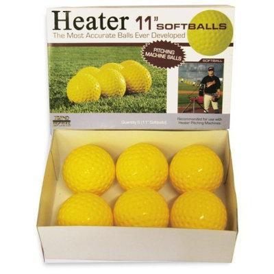 Heater 11 in. Pitching Machine Softballs - 1 Dozen