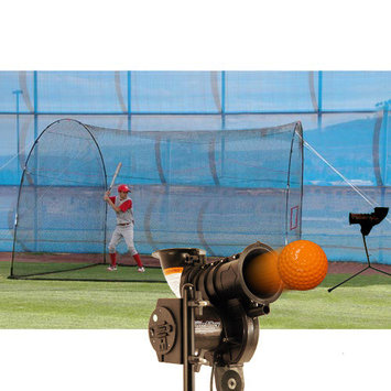 Trend Sports Starting Pitcher and Home Run Cage