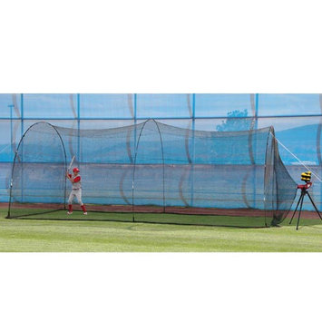 Heater Slider Pitching Machine & PowerAlley Batting Cage Package - 20