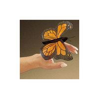 Folkmanis Puppets Folkmanis Mini Butterfly, Monarch Finger Puppet - 2156