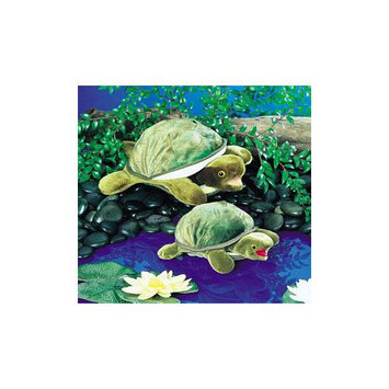 Folkmanis Puppets BABY TURTLE Plush Hand Puppet