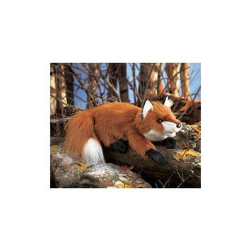 Folkmanis Fox, Red Small Hand Puppet - 2576