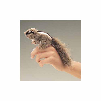 Folkmanis Puppets Folkmanis Mini Chipmunk Finger Puppet - 2637