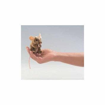 Folkmanis Mini Mouse, Field Finger Puppet - 2652