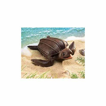 Leatherback Sea Turtle Puppet by Folkmanis Puppets [Fabric]