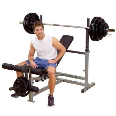Body-Solid Powercenter Combo Bench Package