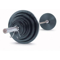 Body-Solid OSB255 255 lbs Cast Olympic Set