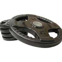 Body-solid Body Solid Rubber Grip Olympic Plate 255lbs Weight Set