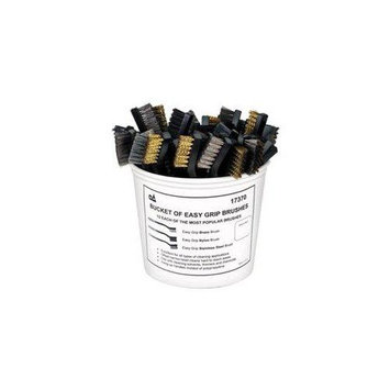 S & G Tool Aid TA17370 Bucket of Easy Grip Brushes