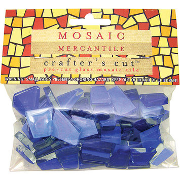 Mosaic Eye Publishing Mosaic Mercantile CCCF-CS Crafters Cut Color Families 1-3 Pound-Pkg-Clear Sky