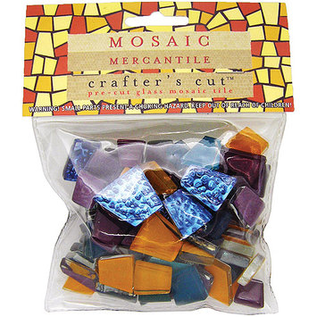 Mosaic Eye Publishing Mosaic Mercantile CCAST-MAR Crafters Cut Assorted 1-2 Pound-Pkg-Mardi Gras