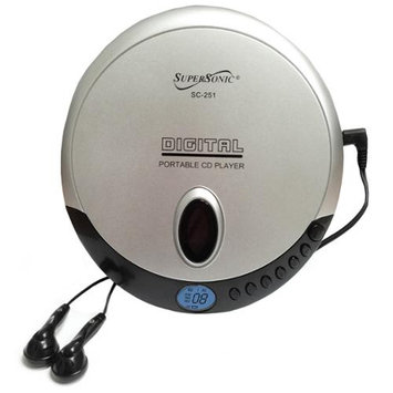 Supersonic Inc SC251 Personal Cd Player