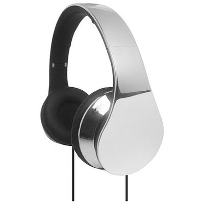 Supersonic IQ Sound High Performance Headphones - Stereo - Silver - Wired