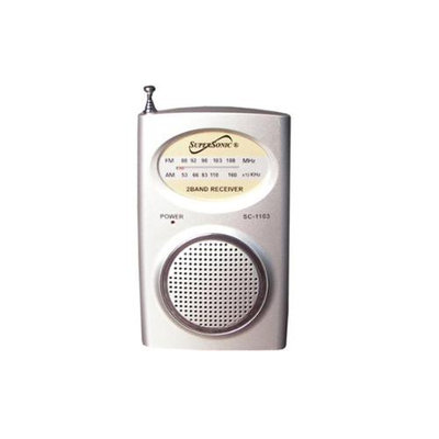 Supersonic Handled AM/ FM RADIO with Build in Speaker