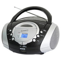 Supersonic Portable MP3 CD Player Silver