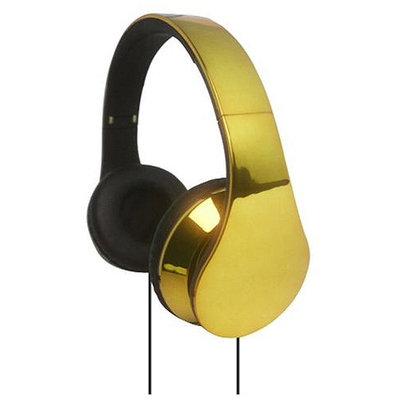 SUPERSONIC IQ-215GOLD HIGH PERFORMANCE HEADPHONES