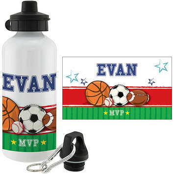 Personalized Planet MVP Sports Personalized 20-Oz. Water Bottle