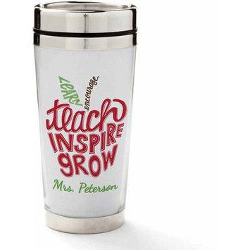 Personalized Planet 'Teach, Inspire, Grow' Personalized 16-Oz. Travel Mug