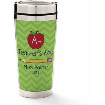 Personalized Planet 'Teacher's Aide' Personalized 16-Oz. Travel Mug