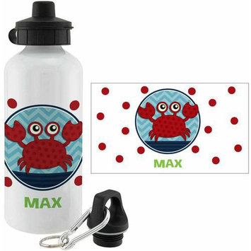 Personalized Planet Sweet Crab Personalized 20-Oz. Water Bottle