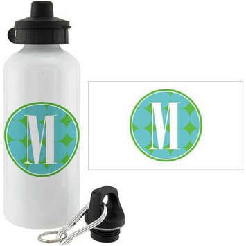 Personalized Planet Blue Polka Dot Personalized 20-Oz. Water Bottle