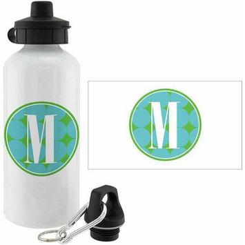 Personalized Planet Blue Polka Dot Personalized 20-Oz. Water Bottle
