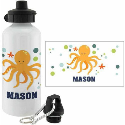 Personalized Planet Octopus Personalized 20-Oz. Water Bottle