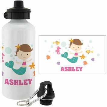 Personalized Planet Mermaid Personalized 20-Oz. Water Bottle