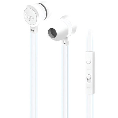 Petra Industries NEON GLOW EARPHONES WITH MICROPHONE and
