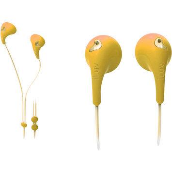 jWIN Electronics Corporation BUBBLE GUM II EARPHONES-YELLOW - GB1582