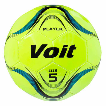 Lion Sports Voit Neon Yellow Size 5 Deflated Soccer Ball
