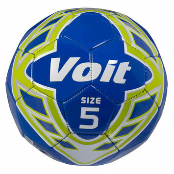 Lion Sports Voit Radente Size 5 Deflated Blue Soccer Ball