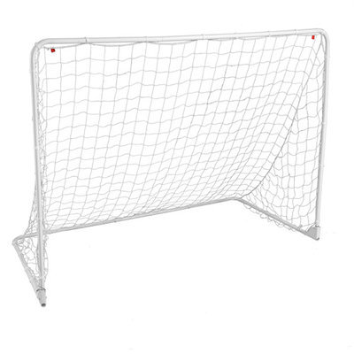 Lion Sports Inc. Lion Sports Fold2GO Portable Steel Soccer Goal - 8 x 6 ft.