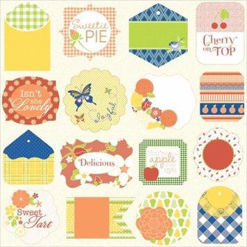 Hampton Art Sweet Tart Die-Cut Cardstock Tags 12