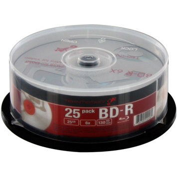 TEKNMOTION 25GB BD-R 25 Packs Disc Model TM-BBDR25