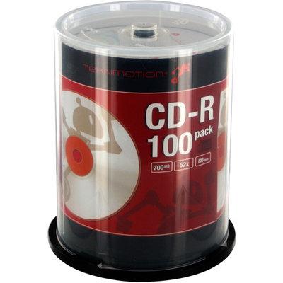 TEKNMOTION 700MB 52X CD-R 100 Packs Disc Model TM-BCDR100