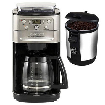 Cuisinart DGB-700BC Cuisinart Brushed Chrome Fully Automatic 12 Cup Grind & Brew Coffeemaker With Burr Grinder + Hario Mini Mill Slim Coffee Grinder