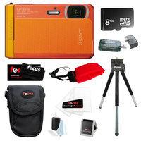 Sony DSC-TX30/D 18 MP Digital Camera with 8GB Accessory Kit