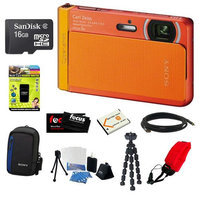 Sony DSC-TX30/D 18 MP Digital Camera with 16GB Deluxe Accssory Kit