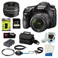 SONY SLT-A58K SLT-A58 with 18-55mm Zoom Lens, 20.1MP DSLR Camera w/ 3