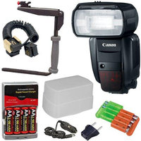 Canon Speedlite 600EX-RT Flash with Deluxe Accessory Kit