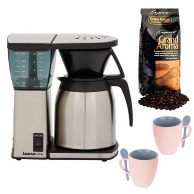 Bonavita 8 Cup Coffee Maker w/ Thermal Carafe plus Coffee Maker Bundle