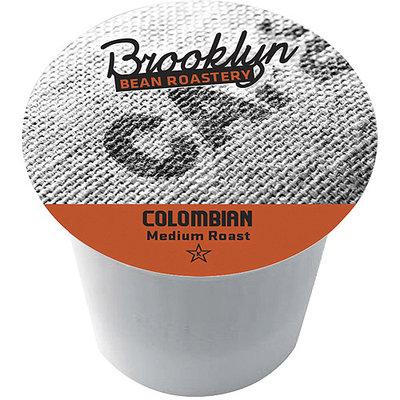 Brooklyn Bean Roastery Colombian Single Serve Coffee Cups, 16 count