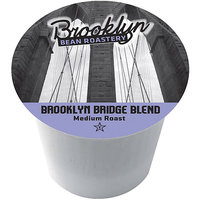 Brooklyn Bean Roastery Brooklyn Bridge Blend Single Serve Coffee Cups, 16 count
